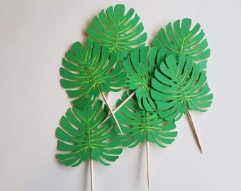 Tropical Leaves Toppers