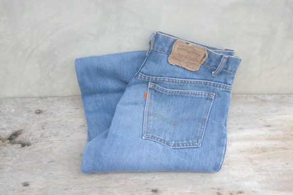 Faded jeans levis 517 orange tab w33 levis Vintage