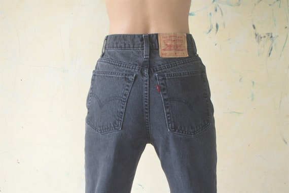 Perfect,vintage levis 512 slim fit W26 , levis bla