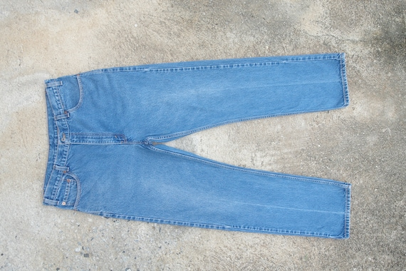 Perfect ,Faded jeans vintage levis 505 W36 L32,lev
