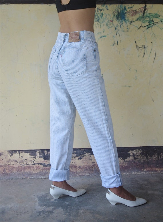 Faded vintage levis 501 Hickory W25 for women ,Lig