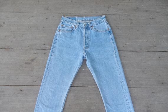 Perfect, Faded jeans, vintage levis 501 W26 L27.5,