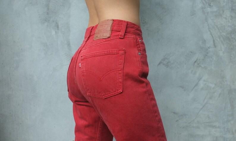 Etsy Vintage Jeans W25 80 Levi Rouge Levis 501 26 tTqrwxTp78