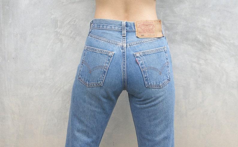 8b2a391e Vintage levis 501 Blue Jeans W2425 for women Levi's 501 | Etsy