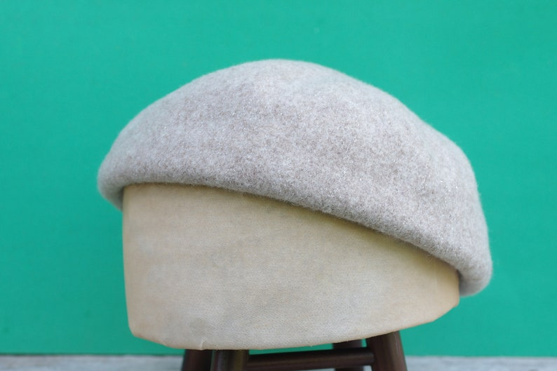 b901e8fd Vintage hat berets color Gray-brownhatWinter Hatswomen   Etsy