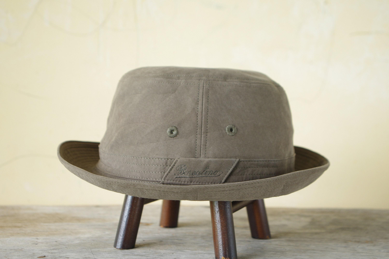 98e1e88e401 Vintage Bucket hat Borsalino Italy color Green hat green size