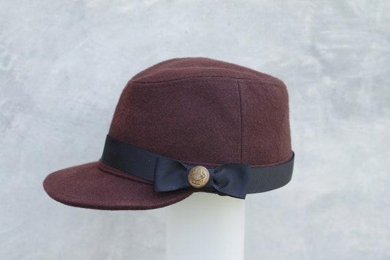 vintage hatkepi capkepi hatCivil War Cap hat women  0656dcec55b4