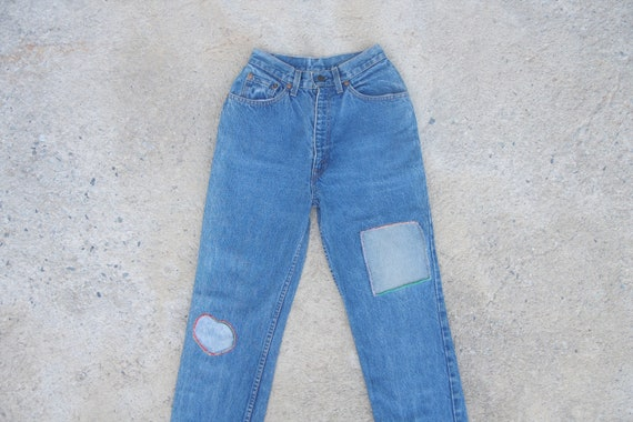 vintage 80s ,levis 505 Blue Jeans W25 for women je