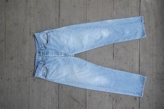 Faded jeans vintage levis 501 light Blue W33 W34,l