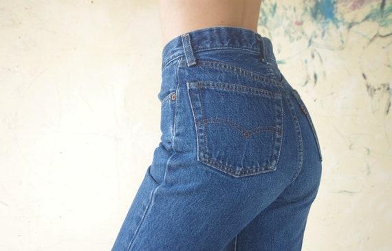 Perfect jeans vintage levis 501 Blue Jeans W24,25