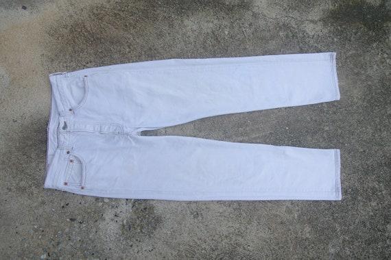 vintage levis 501 white Jeans W32 L32,levis custom