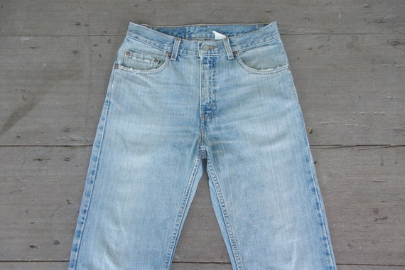 Faded jeans vintage levis 505 W28,W29,levis light