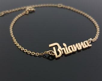 Name Plate Bracelet Etsy