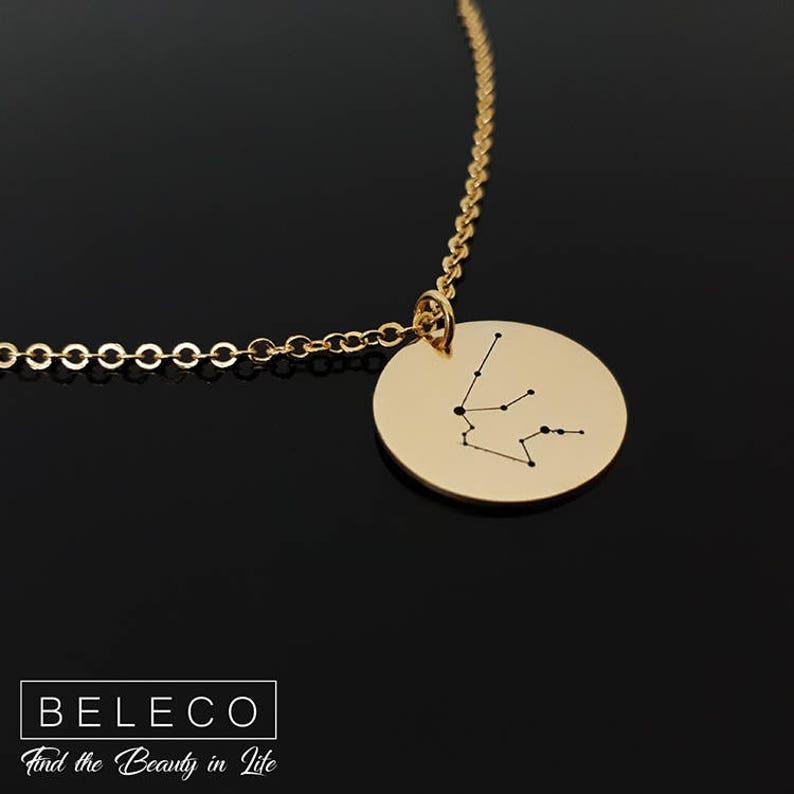 Constellation Jewelry Zodiac Necklace Zodiac Jewelry Astrology Jewelry Zodiac Sign Necklace Constellation Necklace Astrology Necklace