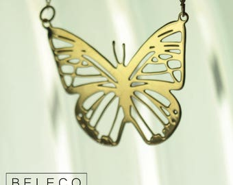 Butterfly Necklace, Butterfly Jewelry,  Butterfly Necklace Gold, Butterfly Necklace Charm,  Butterfly Pendant,  Butterfly Pendant Gold, Gift