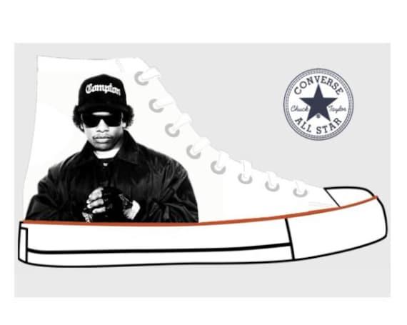 N.W.A Custom Converse