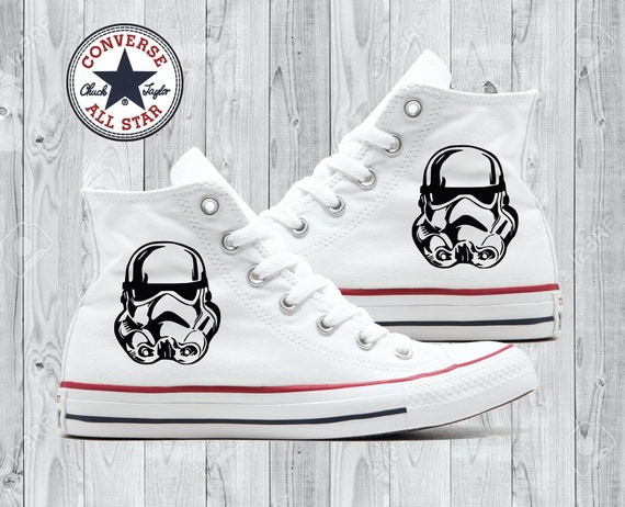 Storm Troopers Converse All Stars Star Wars
