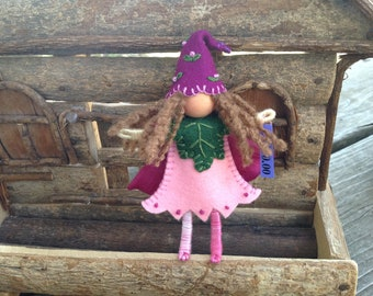 Pink and Violet Flower Pixie