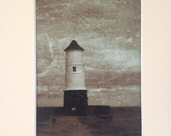 The Lighthouse - A Fine Art Giclee Photographic Print.