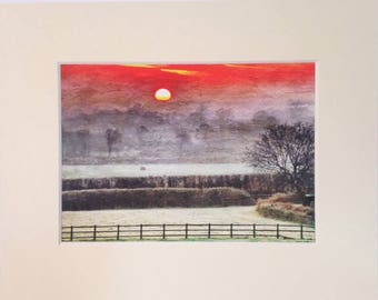 Magical Morning - A Fine Art Giclee Photographic Print.