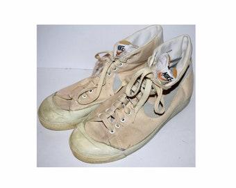 Nike terra tc vintage 80s shoesDEADSTOCKvintage nike sneakerssuperlightweight shoesnike pinwheel
