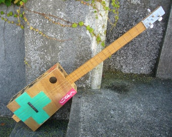 Green cross Fishbox guitar