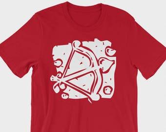 Cupid Arrow Valentine Shirt - Adult Love shirt, Valentine's Day Shirt, I Love You, Love is all you need, Cupids Arrow, Love clothing