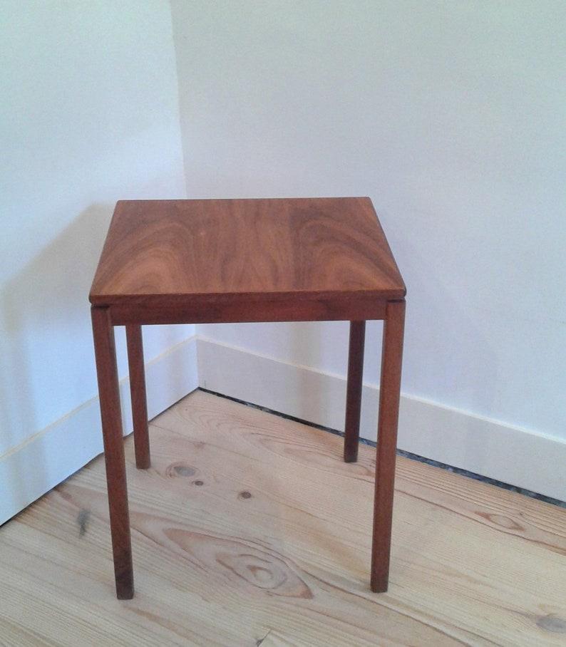 Side Table Teak.Table Low Side Table Teak Mid Century 60 S Sweden Design Anders Lofgren Rally Model