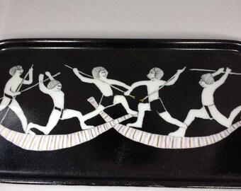 German ceramic pin dish