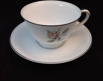 Noritake Margot Japanese cup and saucer X 8 available