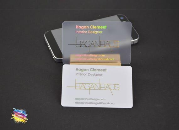 Vereitelten Kunststoff Visitenkarte Pvc Gold Folie Silberfolie Benutzerdefinierte Design Weiß Matt Klar Plastikkarte 100 Set
