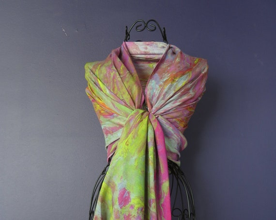 Silk Modal Scarf, long all season scarf in luxurious fabric blend, shawl and wrap, accessories for women, gifts for her, summer scarf, shawl