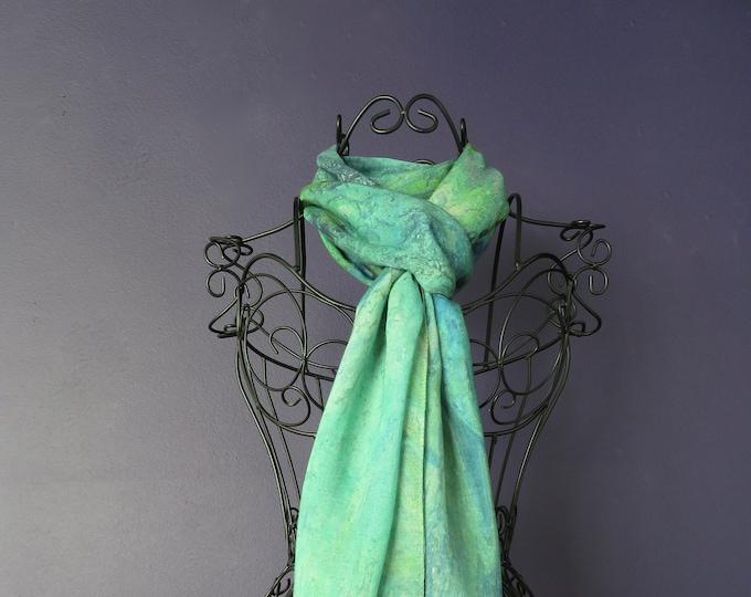All Season Luxury Silk Modal Art Print Scarf