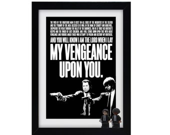 Pulp Fiction Frame