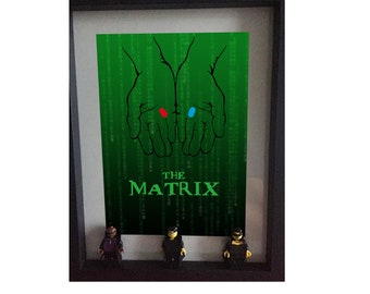 The matrix Minifigure frame Lego