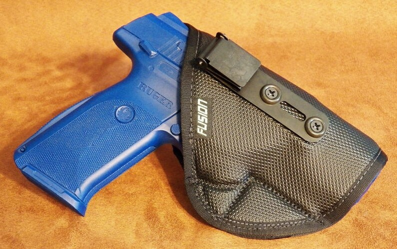 IWB Holster for Ruger SR9/40/45/9E | Inside the Waistband Soft No Slip  Concealed Carry Holster with the Security of a Clip