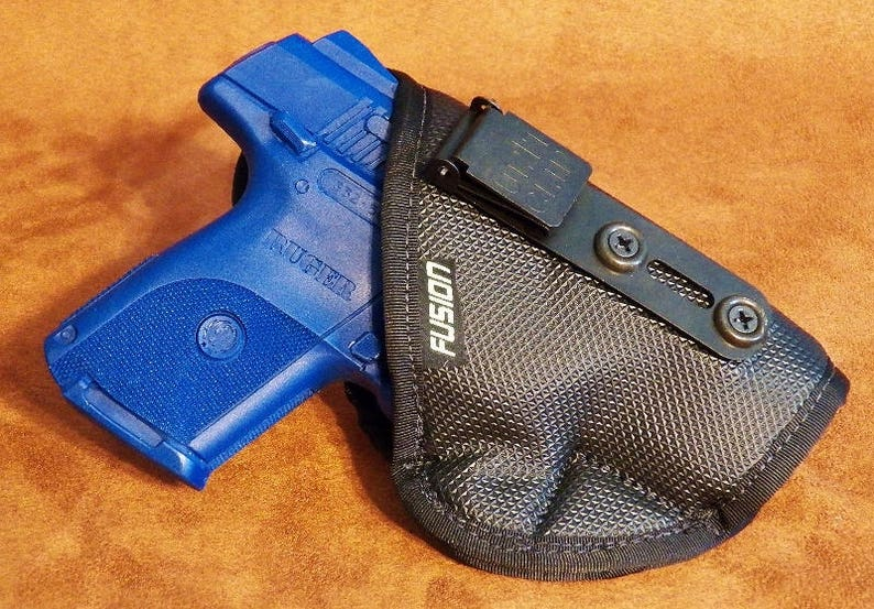 IWB Holster for Ruger SR9C/40C   Inside the Waistband Soft No Slip  Concealed Carry Holster with the Security of a Clip