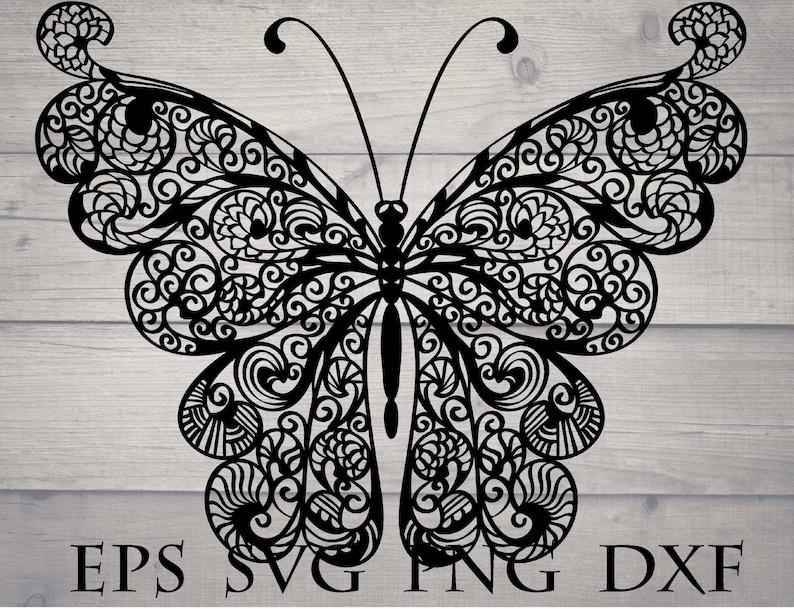 Download Mandala butterfly svg file for cricut | Etsy