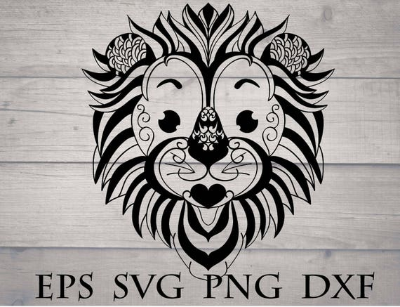 Cute Baby Lion Head Svg Files For Cricut Funny Nursery Decor Etsy