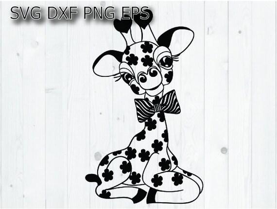 Giraffe Svg Baby Boy Svg Etsy
