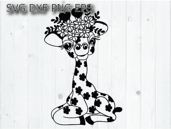 Cute Giraffe Svg Etsy