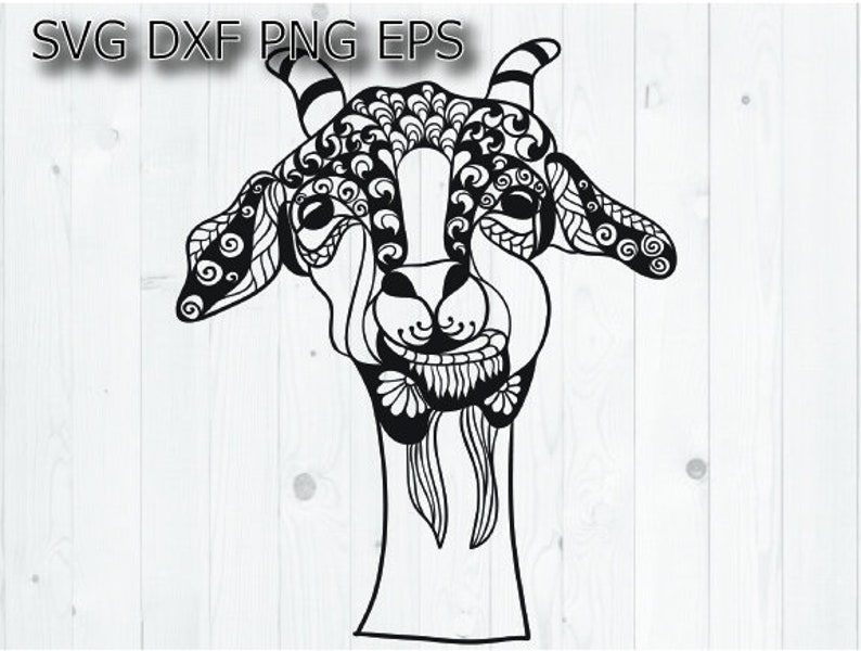 Goat Svg Svg Cricut Farm Animal Svg Goat Silhouette Farm Etsy