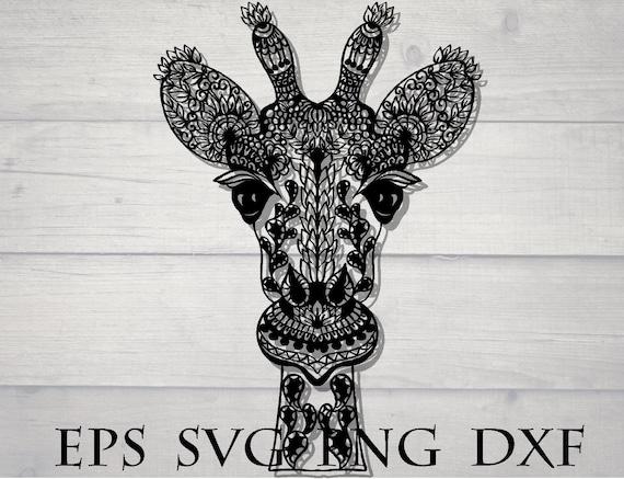 80+ Mandala Giraffe Svg Free – SVG Bundles