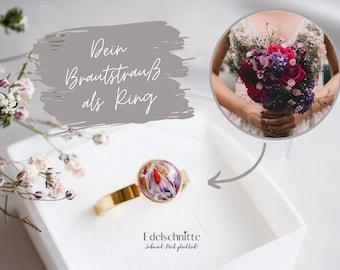 """Ring """"Belle"""" 925er Silber, vergoldet"""