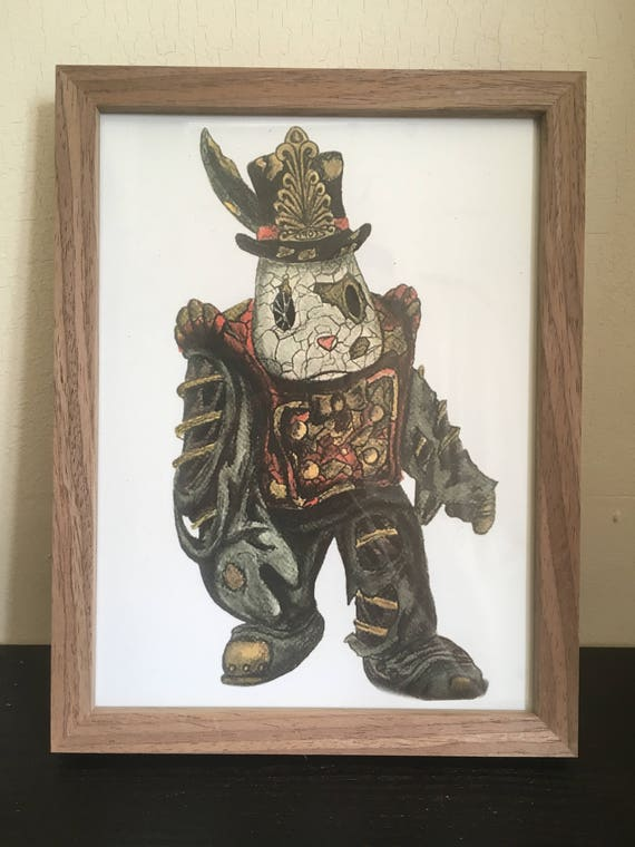 Bioshock Infinite Concept Art Watercolour Print Poster Painting Vigor Plasmid Streampunk Big Daddy Rapture Undertow Eve
