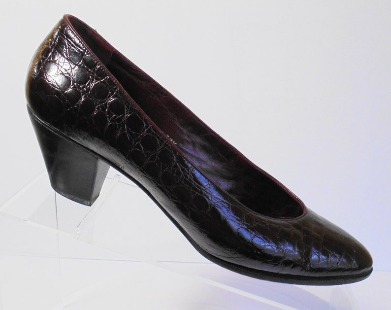 f15890761cd Nordstrom Made In Italy Patent Leather Kitten Heel Pump Size