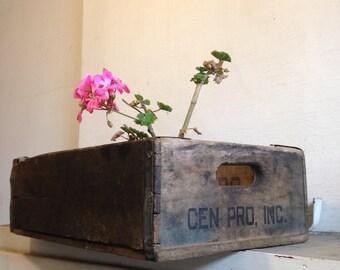 Vintage Old Crate
