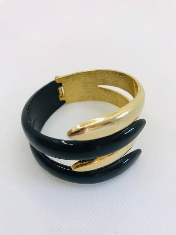 Mid Century Modern Bangle Bracelet