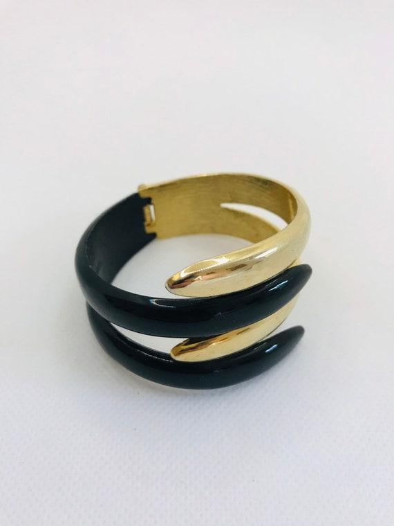 Mid Century Modern Bangle Bracelet - image 5