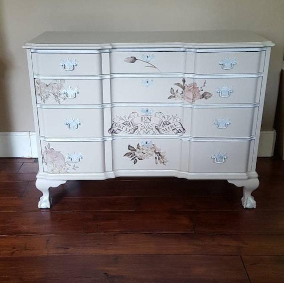 Shabby Chic Furnitureupcycled, Shabby Chic Painted Furniture